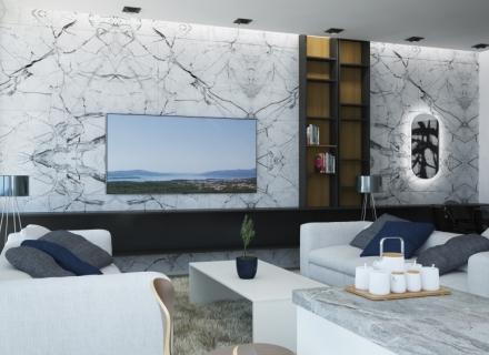 Studios in a hillside complex in Tivat, Karadağ satılık evler, Karadağ da satılık daire, Karadağ da satılık daireler