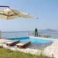 Özel Güvenlikli Site İçerisinde Mükemmel Manzaralı Villa, Karadağ da satılık havuzlu villa, Karadağ da satılık deniz manzaralı villa, Becici satılık müstakil ev