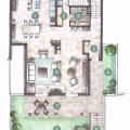 Ön cephedeki Dobrota'daki villalar, Kotor-Bay satılık müstakil ev, Kotor-Bay satılık villa