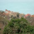 Przno'da satılık panoramik arsa denize sadece 800 metre mesafededir.