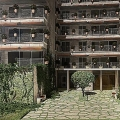 Flats in new complex in Dobrota, sea view apartment for sale in Montenegro, buy apartment in Dobrota, house in Kotor-Bay buy