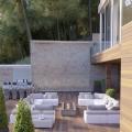 Deniz manzaralı bir çam ormanında modern villa ve St. Stephen, Karadağ da satılık havuzlu villa, Karadağ da satılık deniz manzaralı villa, Becici satılık müstakil ev