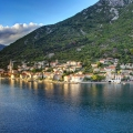 Plot for sale or investment in Kotor Bay, Montenegro DOBROTA PROJECT FOR CONSTRUCTION On the land in .