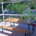 Becici'de satılık yedi daireli villa 600 m2 arsa üzerinde yer almaktadır.