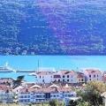 Kumbor'da panoramik deniz manzaralı arsa, Montenegro da satılık arsa, Montenegro da satılık imar arsası