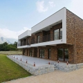 For sale a modern villa, which is located on a spacious plot.