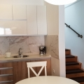 Spacious duplex apartment for sale with 2 bedrooms in the center of Kotor, total area of 74 sq meters, 2 bathrooms, balcony, high 1st floor, Parking space, new repair, appliances, furniture.