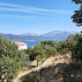 Krasici'de panoramik deniz manzaralı kentsel arsa, Tivat satılık arsa, Herceg Novi satılık arsa
