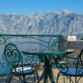 House for sale in Stoliv, Kotor bay, Montenegro on the first line.