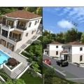 Blizikuce'de villalar, Karadağ da satılık havuzlu villa, Karadağ da satılık deniz manzaralı villa, Becici satılık müstakil ev