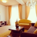 Lux Apartment 57 sqm is located in the building, across the hotel Slovenska plaža (Budva, Montenegro) and is fully furnished.