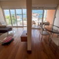 Seaview double-level new one bedroom apartment for sale in Tivat Bay, Djurashevichi.