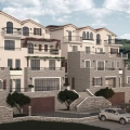 Apartments in a new complex on the beachfront in Boka Bay, apartment for sale in Region Tivat, sale apartment in Bigova, buy home in Montenegro