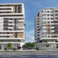 Bar'da iki binadan oluşan yeni yerleşim kompleksi.