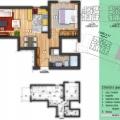 Apartment mit zwei Schlafzimmern in Budva, Montenegro Immobilien, Immobilien in Montenegro, Wohnungen in Region Budva