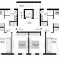 Tivat'ta yeni bir konut kompleksinde daireler, Bigova da ev fiyatları, Bigova satılık ev fiyatları, Bigova da ev almak