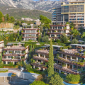 Two bedroom exclusive apartment in the luxury complex on the first line in Budva, sea view apartment for sale in Montenegro, buy apartment in Becici, house in Region Budva buy