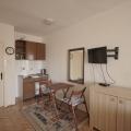 Deniz manzaralı rahat stüdyo. Sveti Stefan, Karadağ, becici satılık daire, Karadağ da ev fiyatları, Karadağ da ev almak