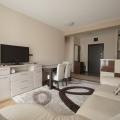 54 m2'lik toplam alana sahip olan Budva'da rahat daire.