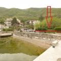 Stoliv'de Denizin İlk Sırasında Mülk, Montenegro da satılık arsa, Montenegro da satılık imar arsası