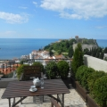 Large spacious house with a total area of 220 m2 for sale in Ulcinj, Montenegro The house has a stunning panoramic view of the sea and the old town.