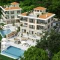Rezevici'de lüks villa, Karadağ da satılık havuzlu villa, Karadağ da satılık deniz manzaralı villa, Becici satılık müstakil ev