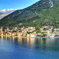 One-bedroom apartment 200 m from the sea in Dobrota, Montenegro real estate, property in Montenegro, flats in Kotor-Bay, apartments in Kotor-Bay