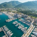 Luxury apartment for sale on the waterfront of Tivat, Montenegro.