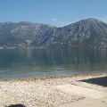 Ilk hattında ev, Kostanjica'da, Karadağ da satılık havuzlu villa, Karadağ da satılık deniz manzaralı villa, Dobrota satılık müstakil ev
