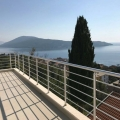 New panoramic apartment with three bedrooms has 122 sq m for sale in Herceg Novi, Montenegro.