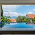Lustica Krasici köyünde yüzme havuzlu panoramik lüks villa, Karadağ satılık ev, Karadağ satılık müstakil ev, Karadağ Ev Fiyatları