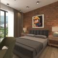 Becici'de yeni bir panoramik komplekste tek yatak odalı daireler, Karadağ'da satılık yatırım amaçlı daireler, Karadağ'da satılık yatırımlık ev, Montenegro'da satılık yatırımlık ev