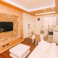 Budva'da Denize Sıfır Lüks Stüdyo Daire, becici satılık daire, Karadağ da ev fiyatları, Karadağ da ev almak