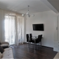 For sale one-bedroom apartment, which has a great view of the sea, in a building next to the hotel Queen of Montenegro in Becici, Montenegro.