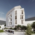 New Beautiful Building in Budva 250m From the Sea, sea view apartment for sale in Montenegro, buy apartment in Becici, house in Region Budva buy