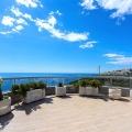 Panoramik deniz manzaralı satılık ferah daire.