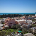 Apartment 95 m2, Bar-Ilino, 8th floor, south-west, sea view from all windows (including bathroom), 1st bedroom, 2nd bedroom, 3 studio-living room, 4 dining room (room for children) , 5 dressing room, 6 bathroom, 2 balconies, new insulated house + parking under the barrier.