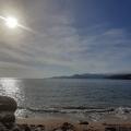 Karadağ'ın özel yerinden birinde satılık panoramik deniz manzaralı arsa.