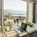 Two Bedroom furnished apartment with a fantastic sea view is for sale.