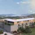Tivat'ta bir yamaç kompleksinde tek yatak odalı daireler, Montenegro da satılık emlak, Bigova da satılık ev, Bigova da satılık emlak