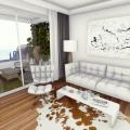 Budva'da panoramik deniz manzaralı modern bir komplekste birinci hatta 2 yatak odalı daire, Montenegro da satılık emlak, Becici da satılık ev, Becici da satılık emlak