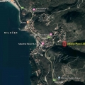 Urbanised Plot in Przno, building land in Region Budva, land for sale in Becici Montenegro