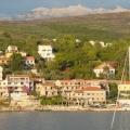 Kotor Bigova'nın güzel köyünde deniz manzaralı mükemmel bir yatırım alanı.