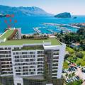 Budva ilk satırda yeni bir kompleks içinde satılık tek yatak odalı daire (A102).