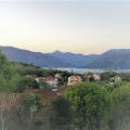 Tivat Körfezi ve plaja bakan panoramik arsa, Montenegro da satılık arsa, Montenegro da satılık imar arsası