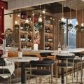 Becici'de Panoramik Restoran, karadağ da satılık dükkan, montenegro satılık cafe