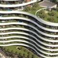 Satılık yeni konut kompleksi bir yatak odalı daire Budva ilk satırda yer almaktadır.