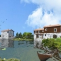 Eco-Village. Investment Project, property with high rental potential Central region, buy hotel in Cetinje