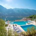 Magnificent apartment overlooking the bay and the old town of Kotor, hotel residence for sale in Kotor-Bay, hotel room for sale in europe, hotel room in Europe