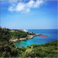 Plot for sale of 4004 m2 is located on the first line from the sea, Bar riviera, Montenegro.